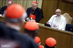 Папа Франциск передав слова солідарності українським кардиналам