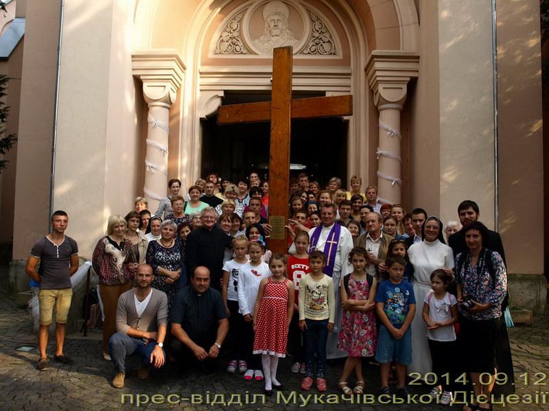 Паломницький Хрест та Ікона Світових Днів Молоді