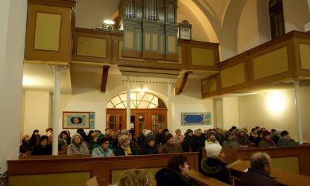 Екуменічні молитви у Мукачеві
