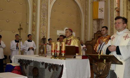Меса посвячення Мира у мукачівській катедрі св. Мартина