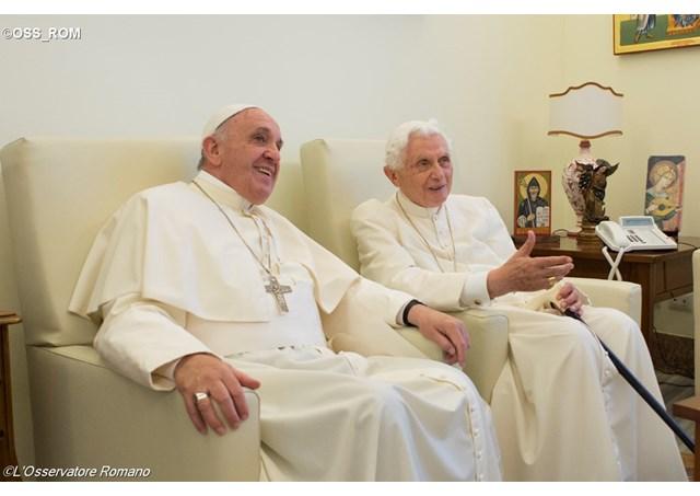 Річниця урочистого початку служіння Папи та іменини його попередника