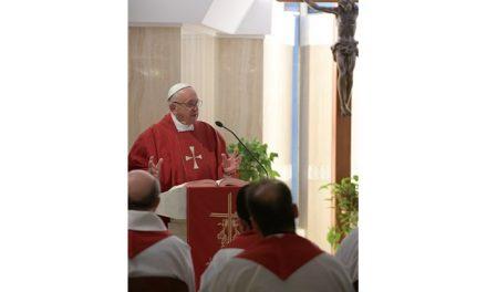Папа Франциск про таїнство любові Господнього Хреста