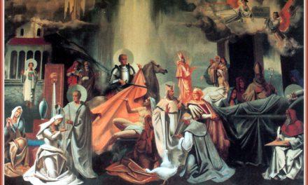 Святий Мартине, славний сину Саварії, молись за нас!