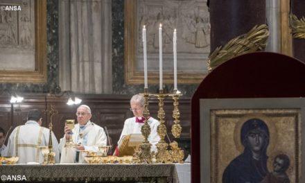 Папа: Джерелом нашої надії є Мати, а не технології чи ідеї