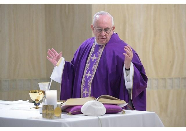 Папа Франциск про справжній та фальшивий піст