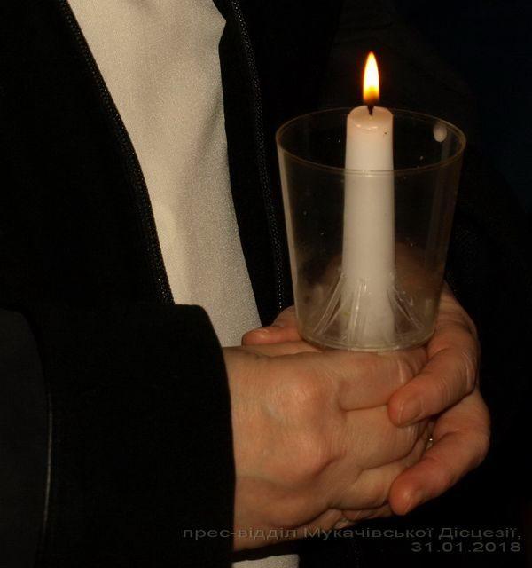 Святкування дня Богопосвяченого життя