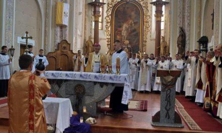 Меса Мира у кафедральному соборі Мукачева