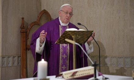 Папа: Віра та релігія – не видовище. Намагаймося думати по-Божому