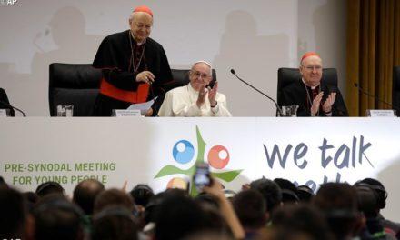 Церква серйозно ставиться до вашого внеску. Папа відкрив перед-синодальну зустріч молоді