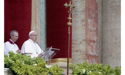 Великоднє послання «Urbi ed Orbi» Папи Франциска 2018 року