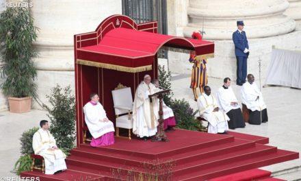 Папа: Бог захотів стати «нашим»; про Його любов свідчать Христові рани