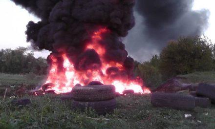 Звернення проти спалювання шин на Великдень!