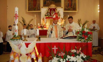 Таїнство Миропомазання у рахівському храмі св. Йоана Непомука