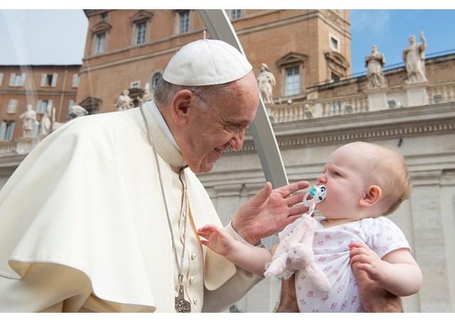 Папа: Діти мають право на християнське виховання