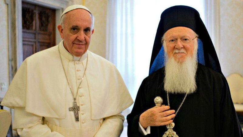 Папа Франциск прийняв патріарха Вартоломея І
