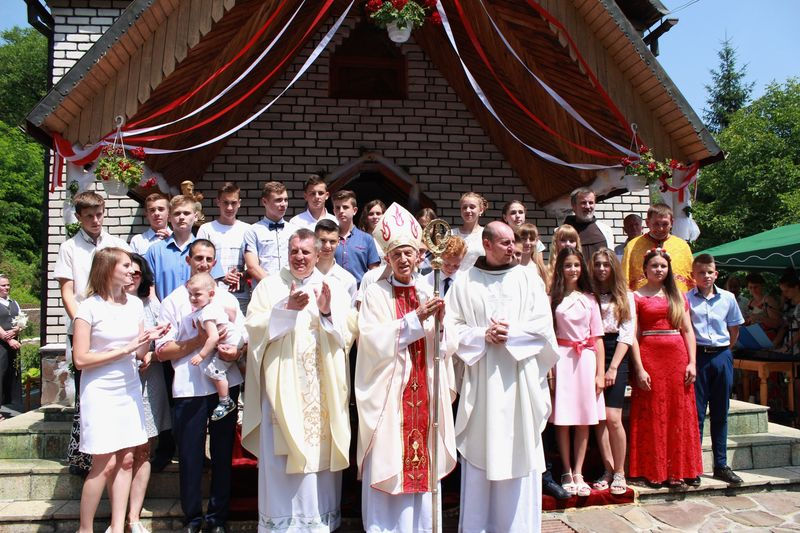 25-та річниця парафії св. Антонія у с. Анталовці