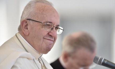 Папа: Бог хоче і може розбити наші кайдани