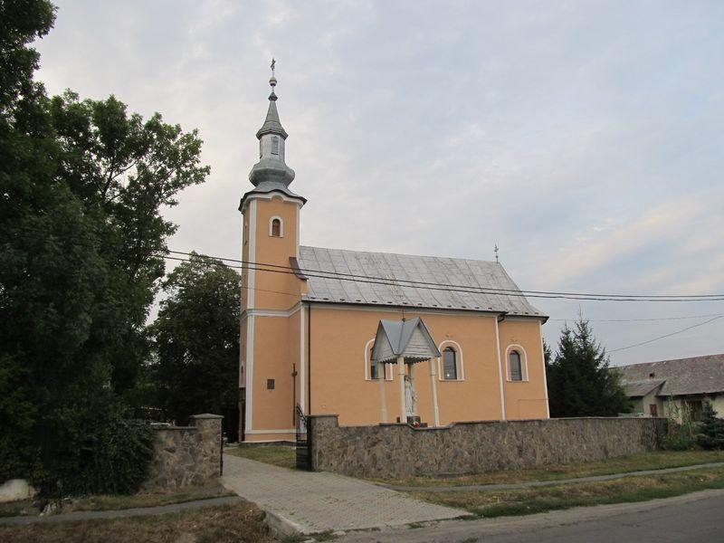 Оноковці. Костьол Відвідин Святої Єлизавети