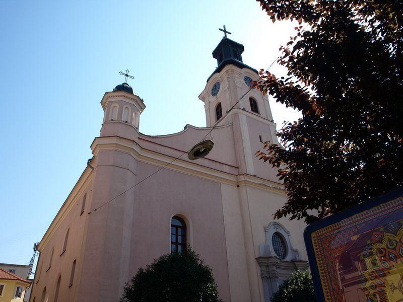 Ужгород. Костьол посвячений Святому Георгію мученику