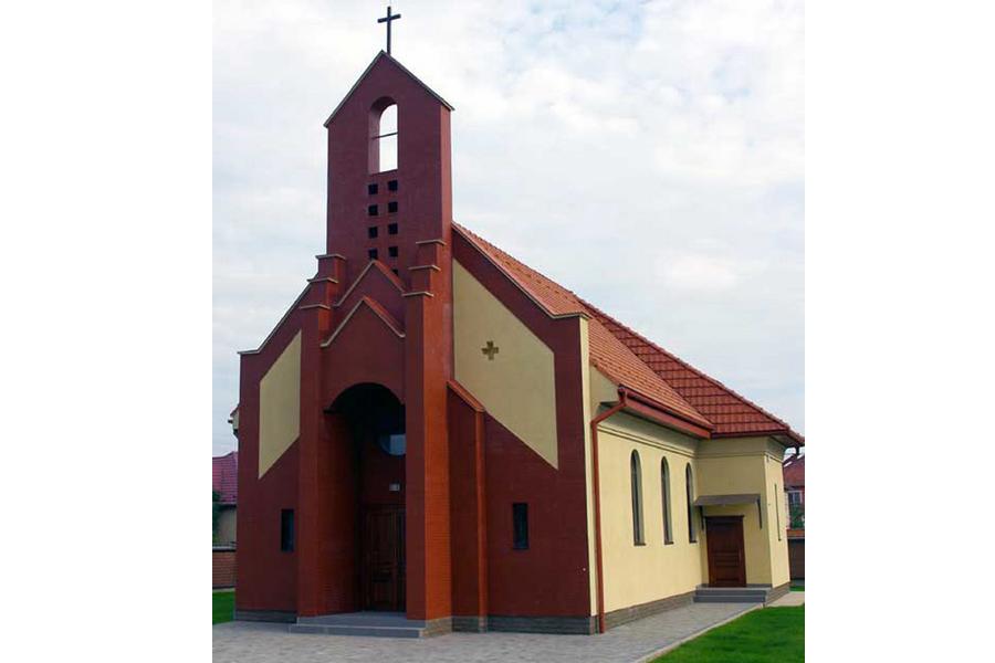 Мукачево-Бороктелеп. Костьол посвячений Святому Франциску