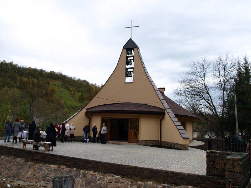 Лисичево. Костьол посвячений св. Йоану Павлу ІІ