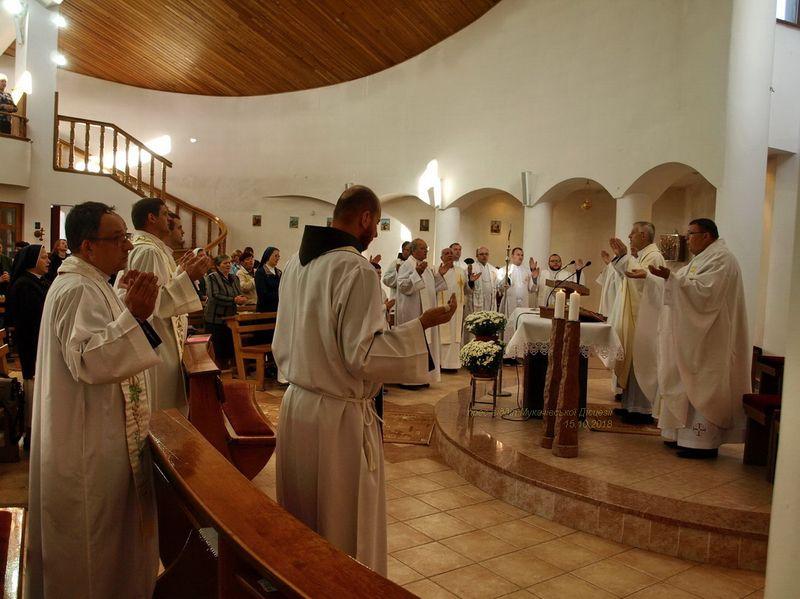 Реколекції духовенства Мукачівської дієцезії