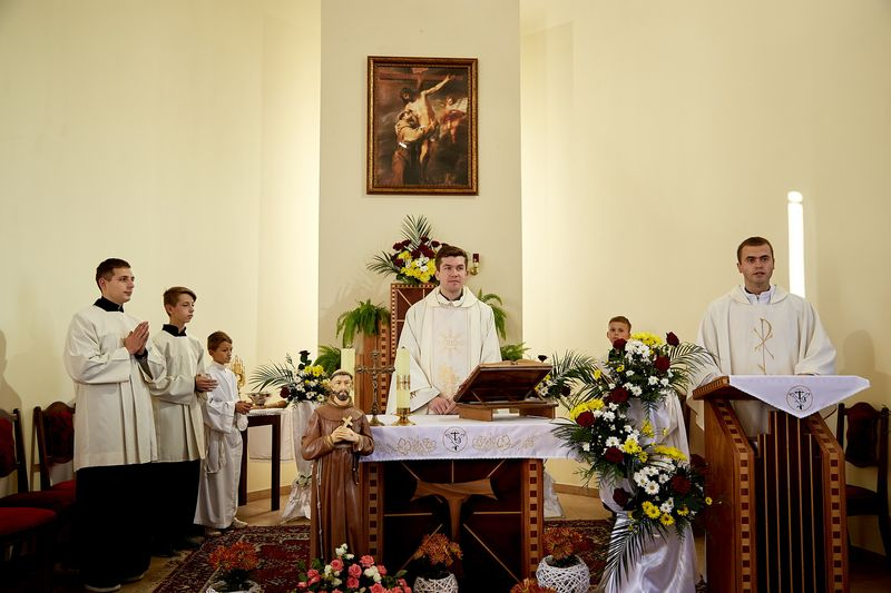 Храмове свято у церкві св. Франциска
