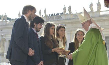 Папа Франциск: будуйте світ, кращий від теперішнього