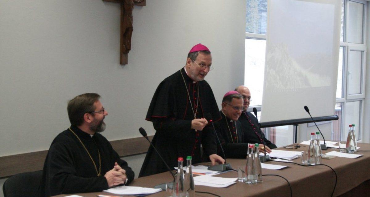 Розпочалася спільна братня зустріч католицьких єпископів України