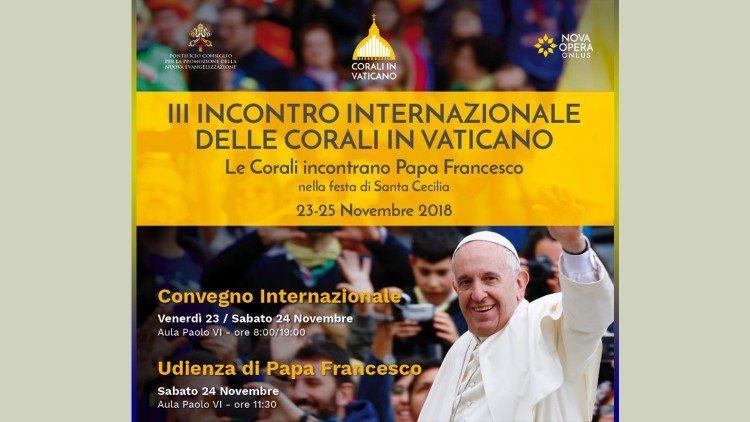 У Ватикані відбудеться ІІІ Міжнародна зустріч хористів