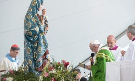 Папа попрощався з учасниками ВДМ. Наступний відбудеться в Португалії