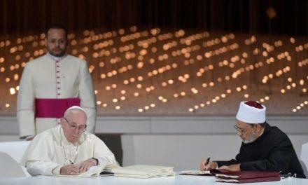 Папа Франциск і Великий Імам Аль-Таїб: історична декларація