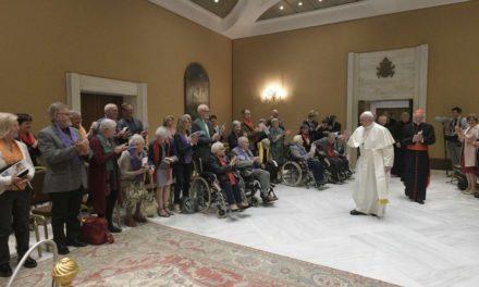 Папа Франциск: Літні люди – це пам'ять людства