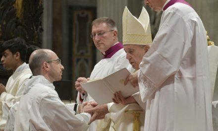 Папа новопресвітерам: Подобатися Богові, а не собі