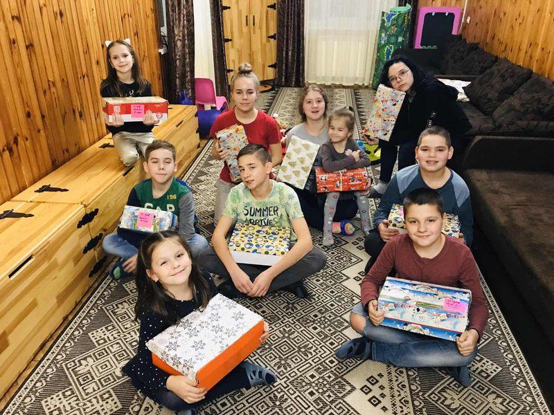 Діти зі Словаччини думають  про дітей в Україні – Різдво 2019 року