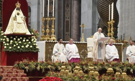 Папа: До Бога приходимо тим же шляхом, що й Він до нас: через Марію