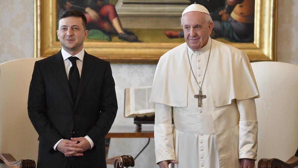 Папа Франциск прийняв Президента України Володимира Зеленського