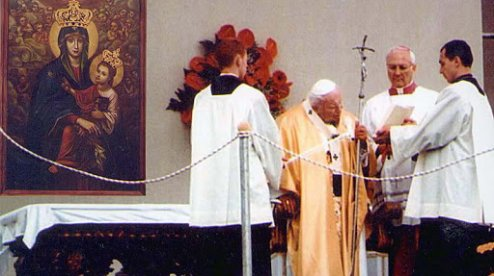"""Папа Йоан Павло ІІ до українців: """"Народе Божий, втішайся даром святого Євангелія""""!"""