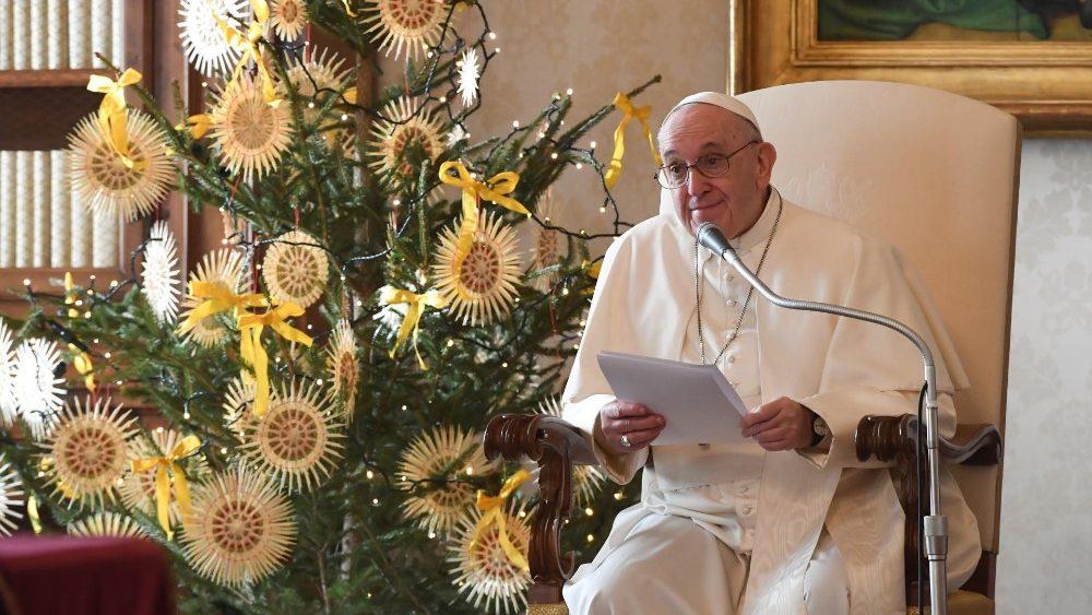 Папа: Якщо будемо носіями вдячності, світ ставатиме кращим