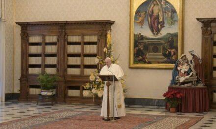 Папа: Бог перемагає зло, понизившись і взявши його на Себе