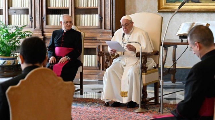 Папа: Єдність можна осягнути лише як плід молитви