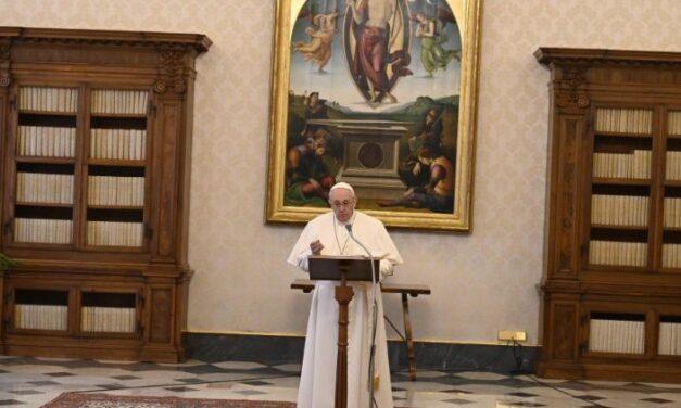 Папа: Час, аби прийняти дароване Богом спасіння – короткий