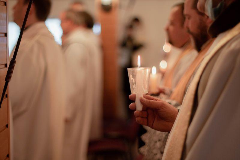 Фоторепортаж з дня богопосвячених осіб