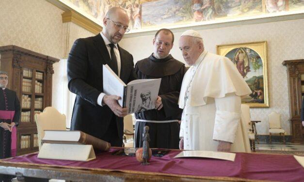 Папа Франциск прийняв Прем'єр-міністра України