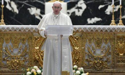 Великоднє послання «Urbi et Orbi» 2021 Папи Франциска