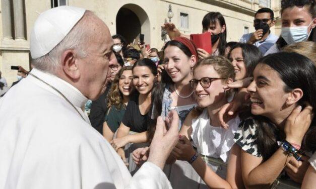 Папа: Божа правда дає серцю свободу