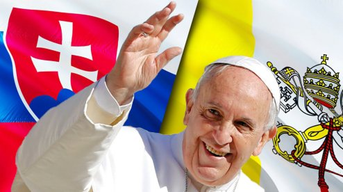Трансляції Апостольської подорожі Папи Франциска до Будапешту та Словаччини