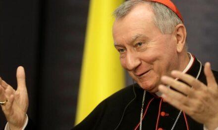 Візит в Україну Кардинала П'єтро Пароліна