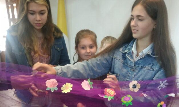 Молитовний букет квітів